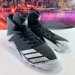 ADIDAS FREAK MID SENIOR FOOTBALL/ LACROSSE CLEATS.